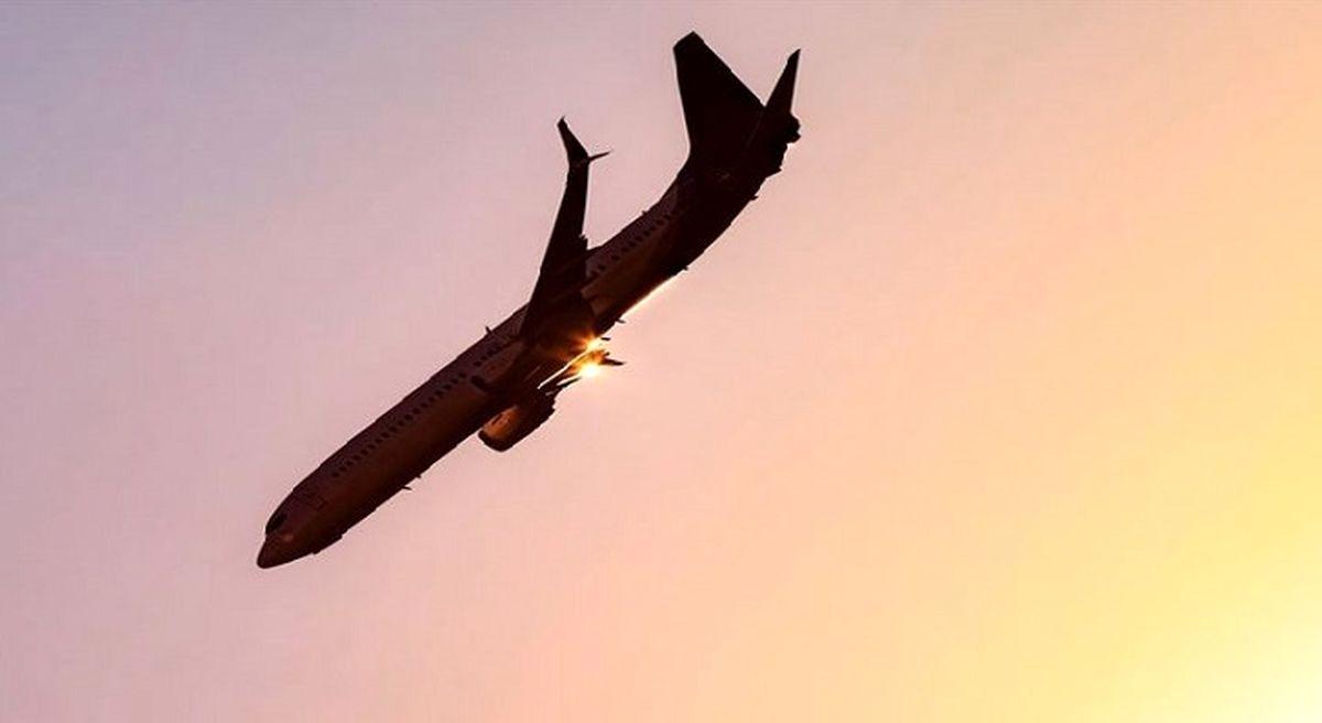 فیلم هولناک از سقوط هواپیما در آمریکا   جزئیات