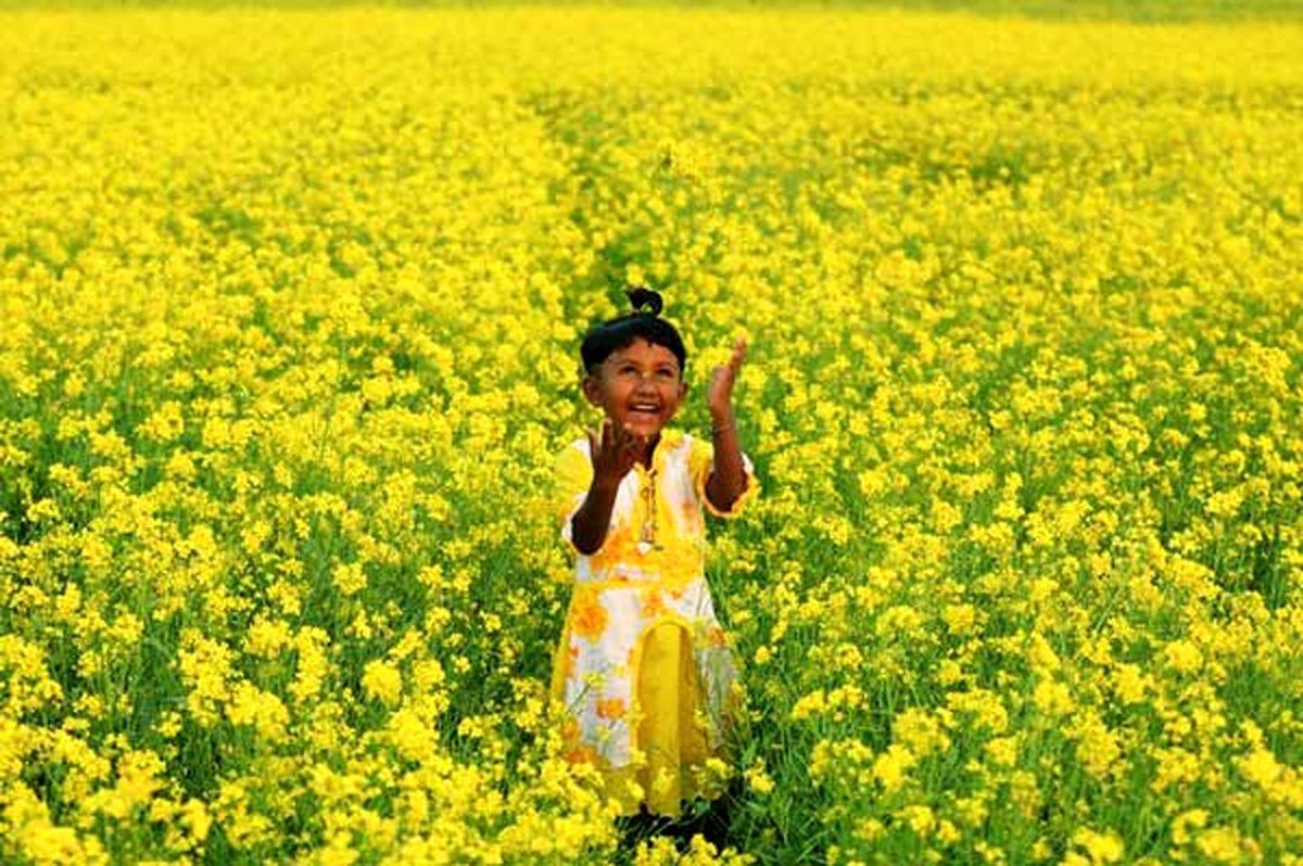 عکسی خیره کننده از یک دختر بنگلادشی
