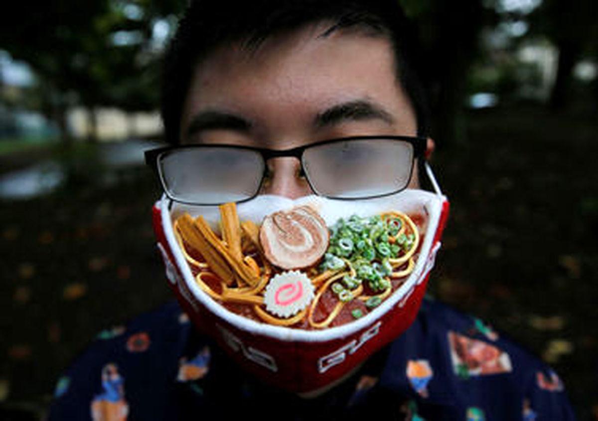 خلاق ترین ماسک خوراکی  در ژاپن + تصاویر