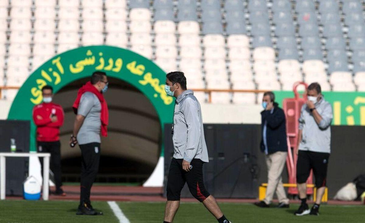 تصاویر دیده نشده از تمرینات تیم ملی فوتبال ایران