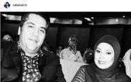 دلبستگی مجری زن سرشناس تلویزیون به صدای همسرش   عکس