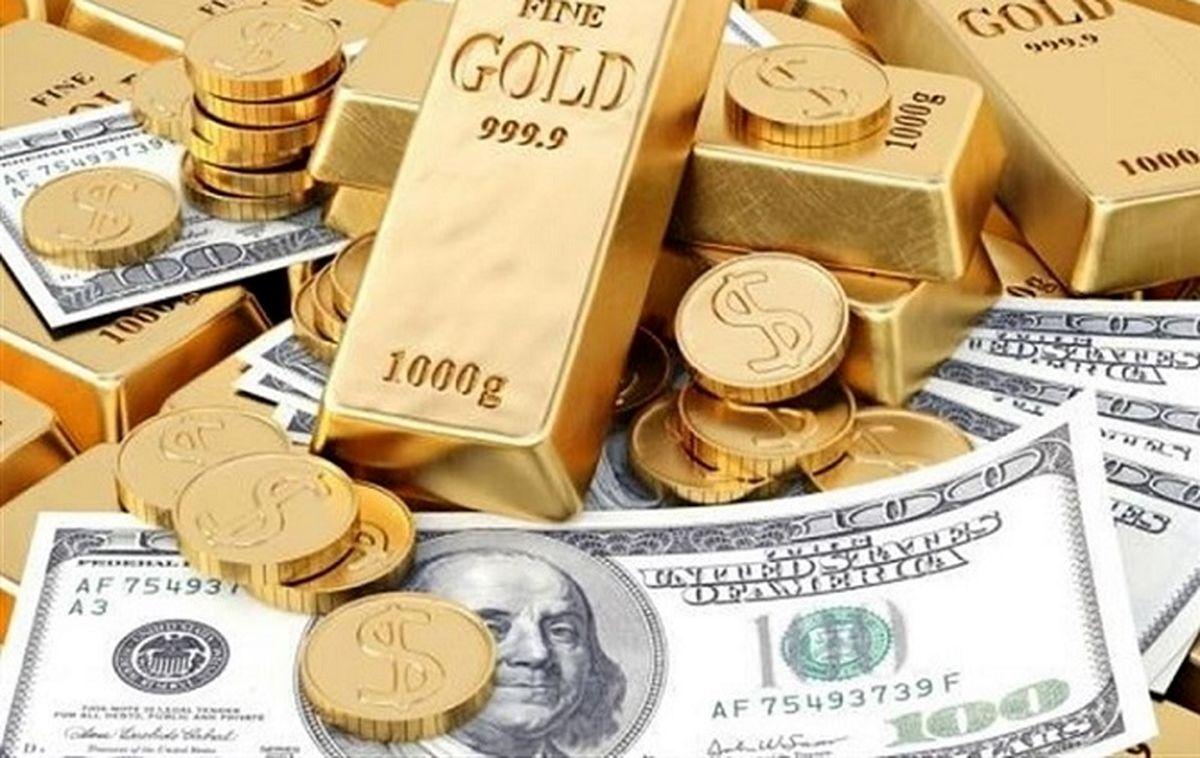 قیمت طلا، سکه امروز 17 مهر | آغاز ریزش شدید قیمت طلا و ارز