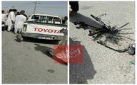 اولین عکس از انفجار تروریستی امروز در سراوان