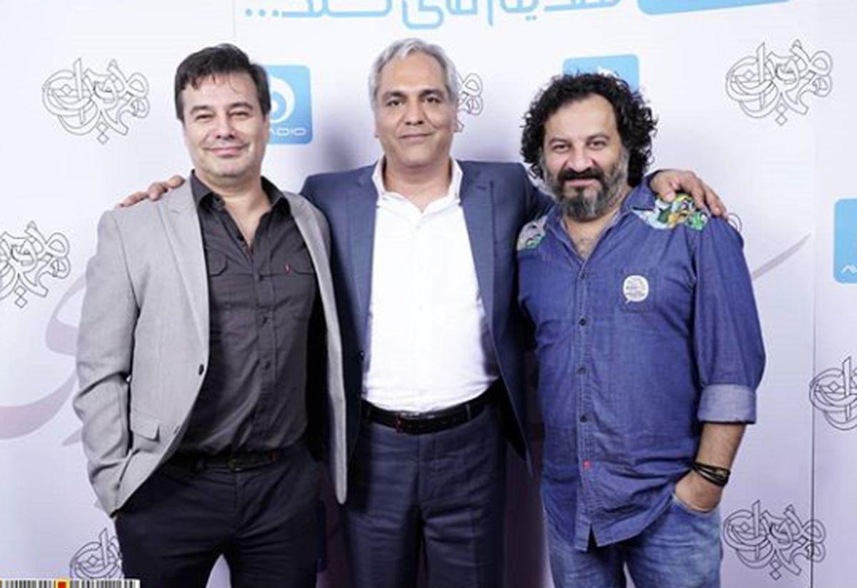 برادران قاسمخانی در آغوش مهران مدیری+عکس