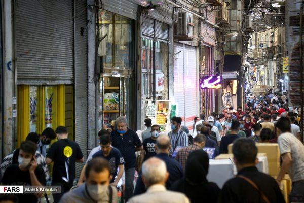 تصاویر بازگشایی بازار تهران پس از 30 روز