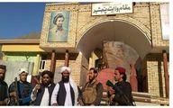 عکس یادگاری طالبان در استانداری پنجشیر