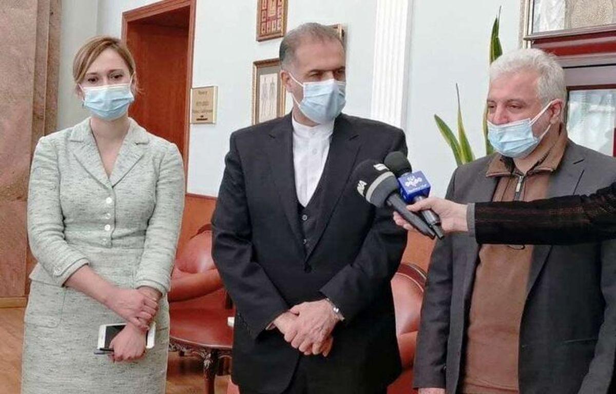 دومین محموله واکسن روسی به ایران ارسال شد