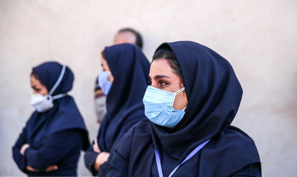 تشییع پیکر شهیده مدافع سلامت در بیمارستان لقمان+عکس ها
