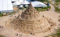 ساخت بلندترین قلعه شنی جهان