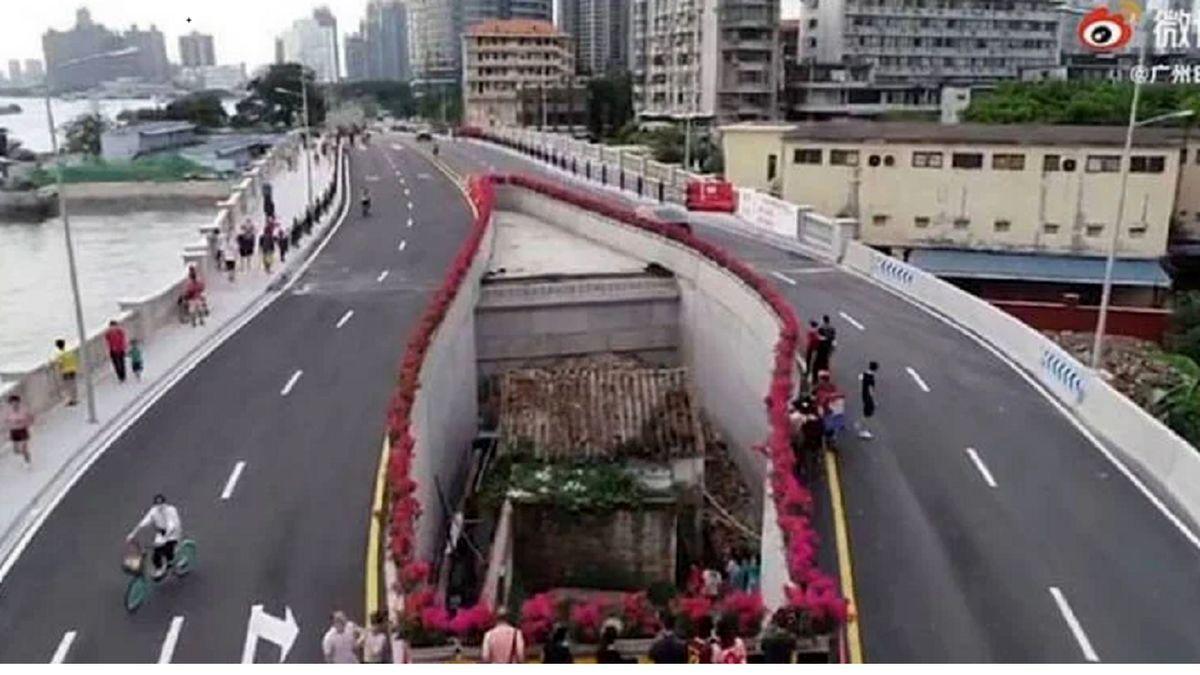 فیلم : بزرگراهی جالب در چین