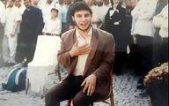 عکسی جالب از جوانی جواد عزتی