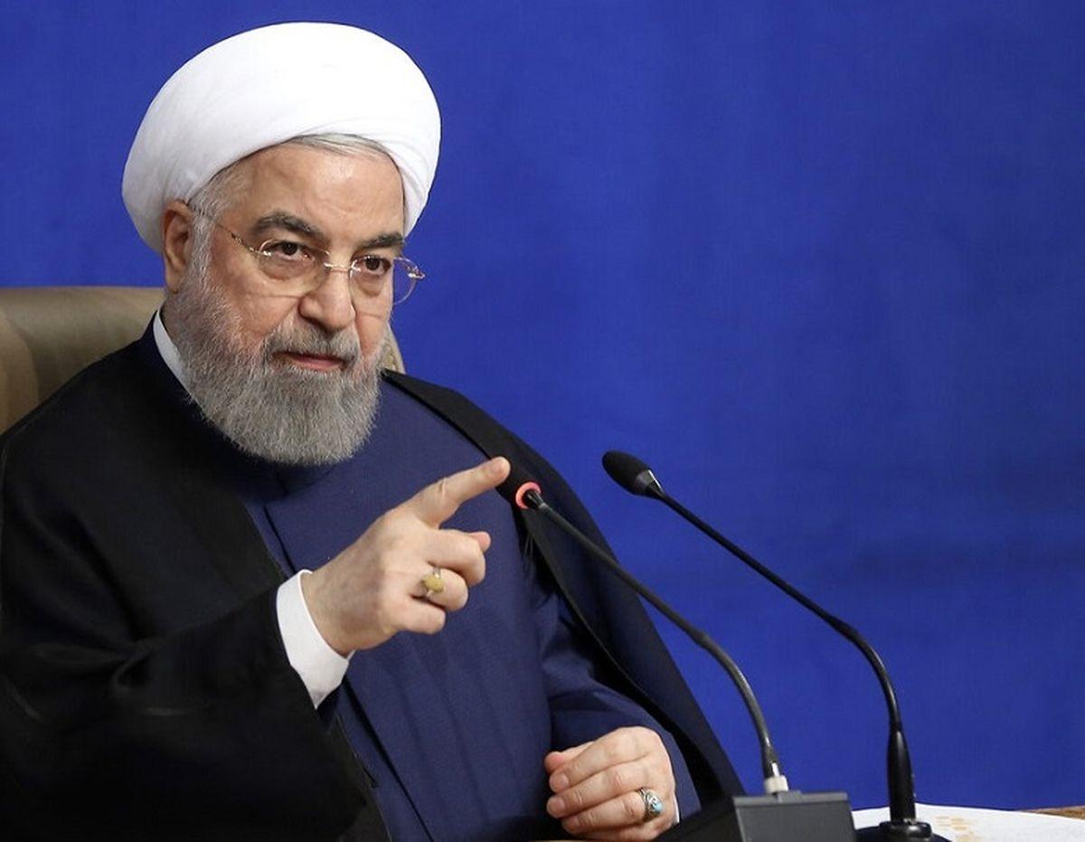 حسن روحانی:اسلحه و زور در برابر اندیشه پیروز نمی شود