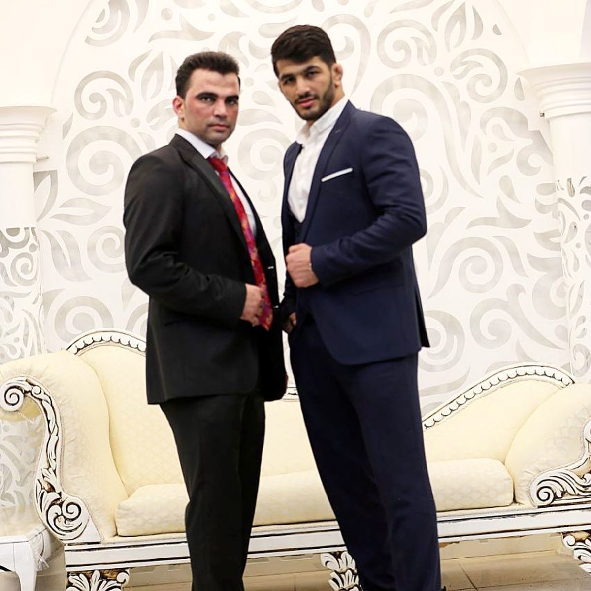 تیپ لاکچری حسن یزدانی در عروسی برادرش   عکس حسن یزدانی