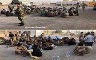 تصاویر ارتش افغانستان پس از فرار به ایران
