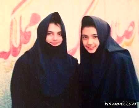 شبنم قلی خانی در دبیرستان