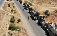 کاروان آمریکا در استان بغداد هدف قرار گرفت