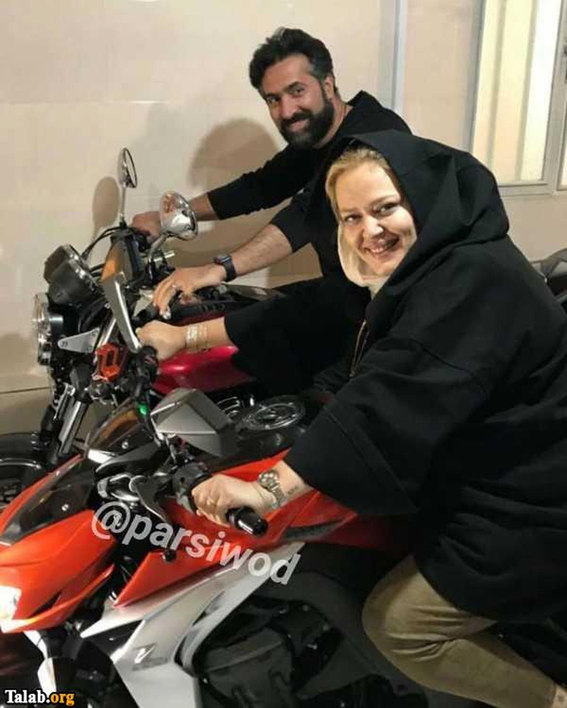 فیلم لورفته از موتورسواری بهاره رهنما + فیلم