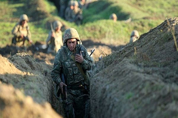 بمباران نیروهای آذربایجان در نزدیکی مرز با ایروان