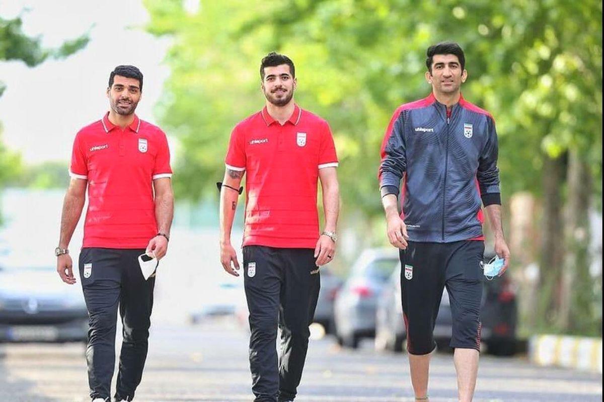 جدیدترین تصویر سه ستاره تیم ملی در اردوی جام جهانی