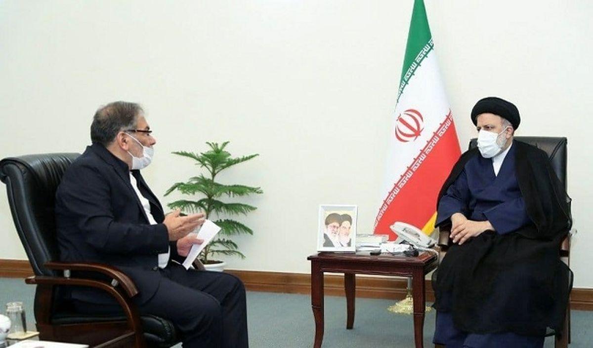 در دیدار دبیر شورای عالی امنیت ملی با رییسجمهوری منتخب چه گذشت؟