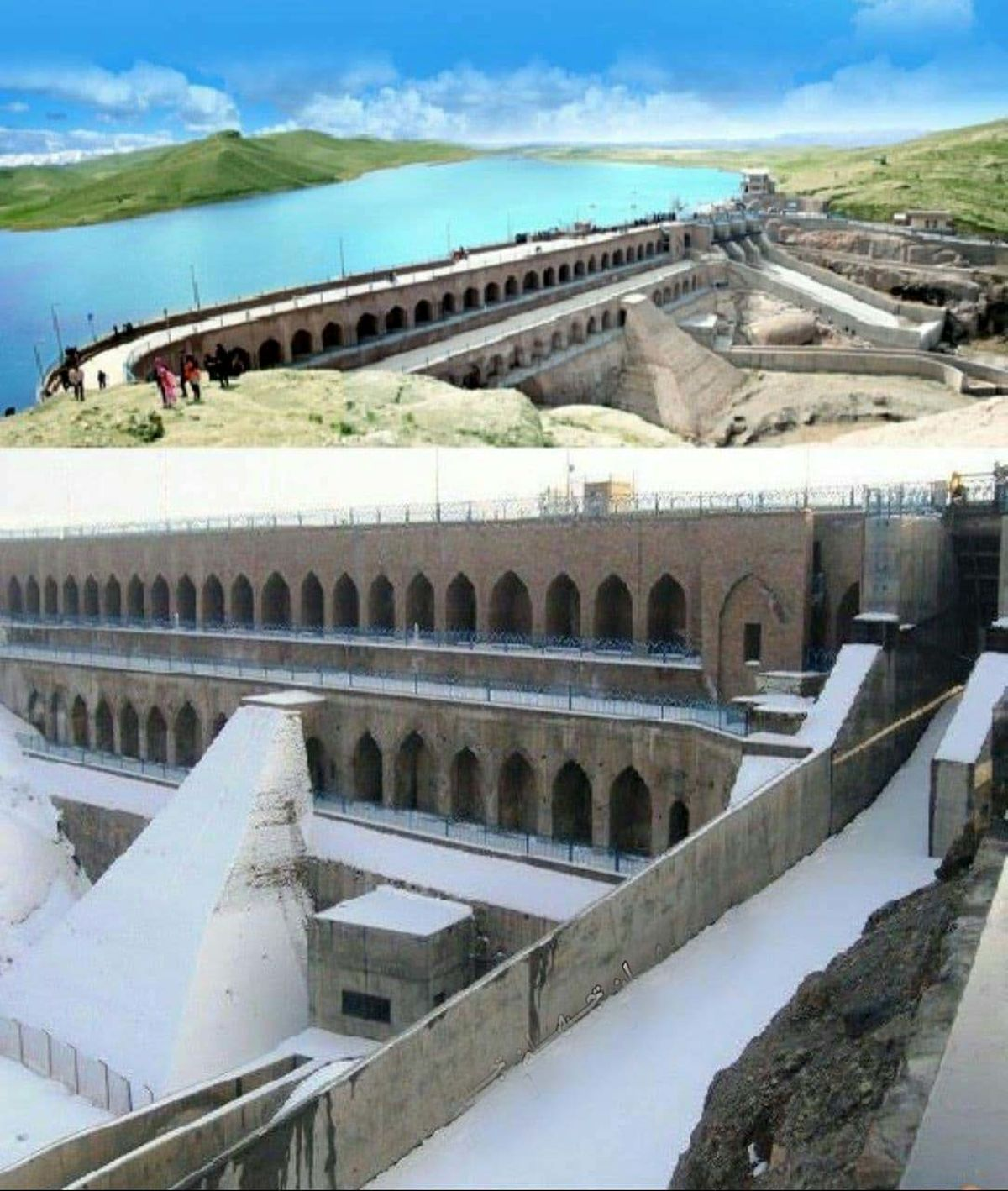 سد هزارساله فریمان شگفتی مهندسی ایرانی