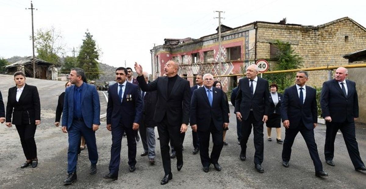 اظهارات جدید علیاف درباره ایران و ارمنستان