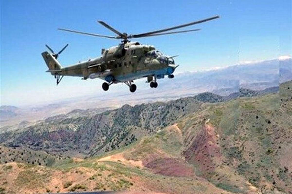هلی کوپتر سواری عجیب طالبان با تجهیزات میلیون دلاری