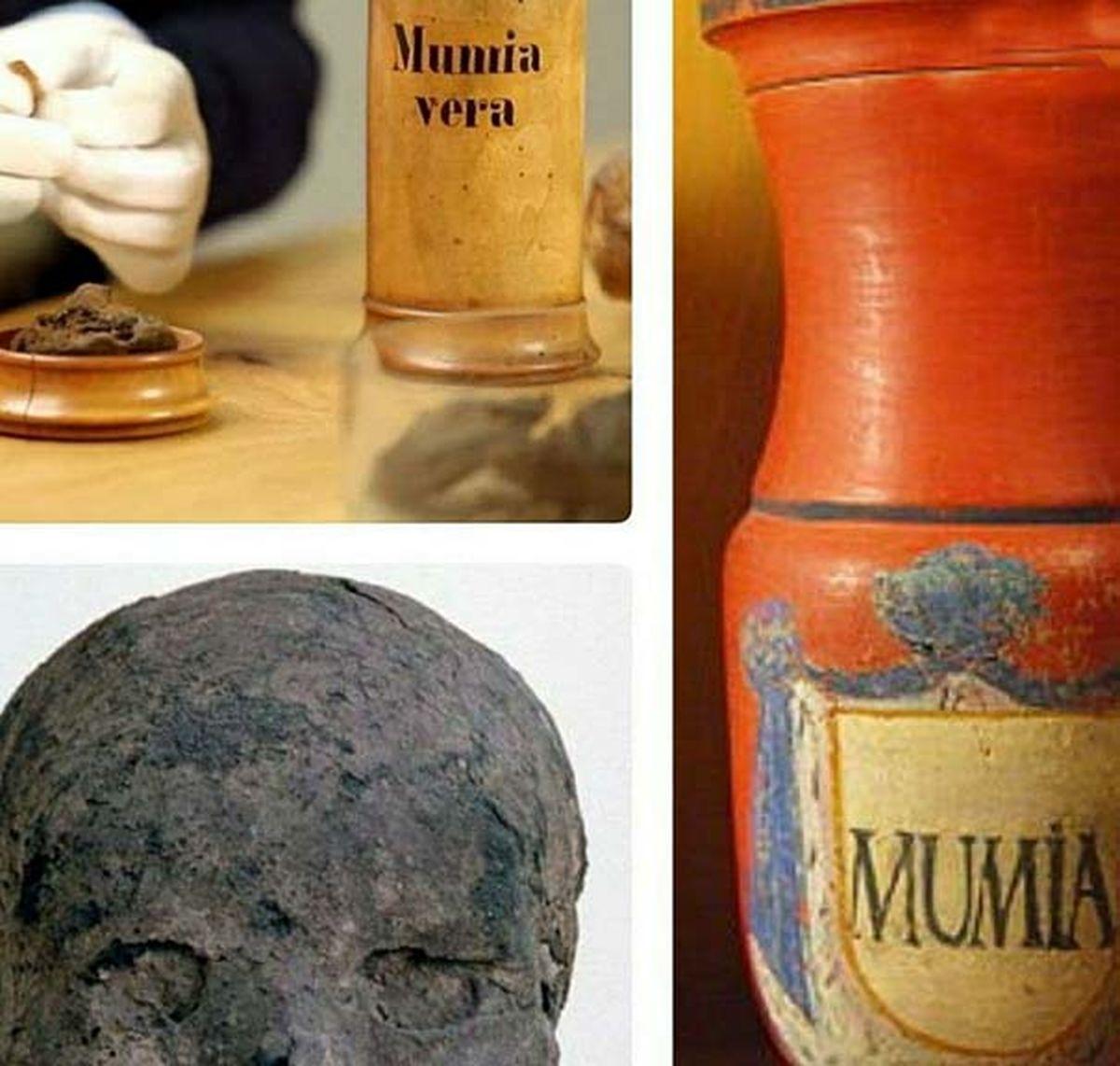 عجیب ترین دارو و مکمل جهان از گوشت مومیایی انسان|عکس