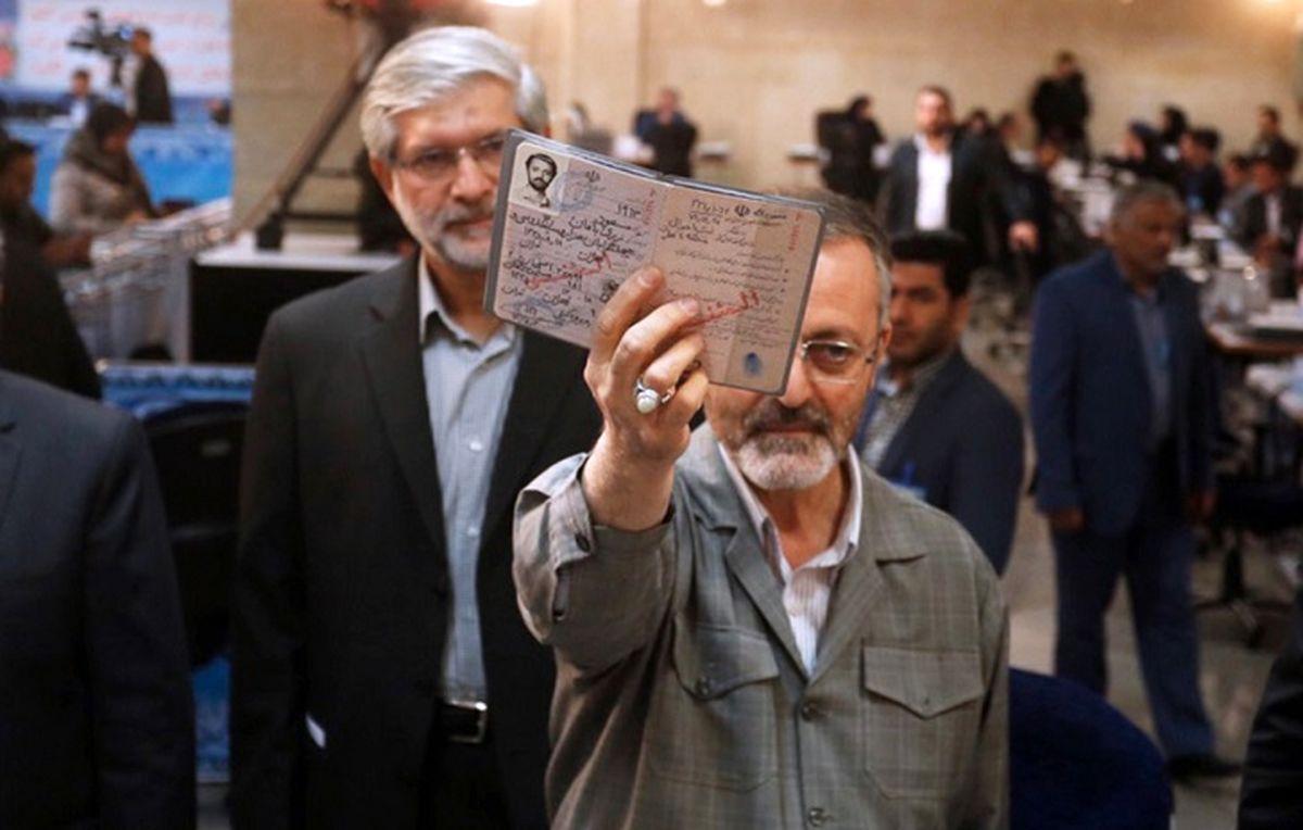 زریبافان برای انتخابات ثبتنام کرد
