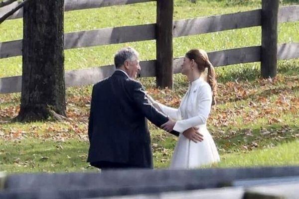 تصاویر مخفیانه از جشن عروسی دختر بیل گیتس