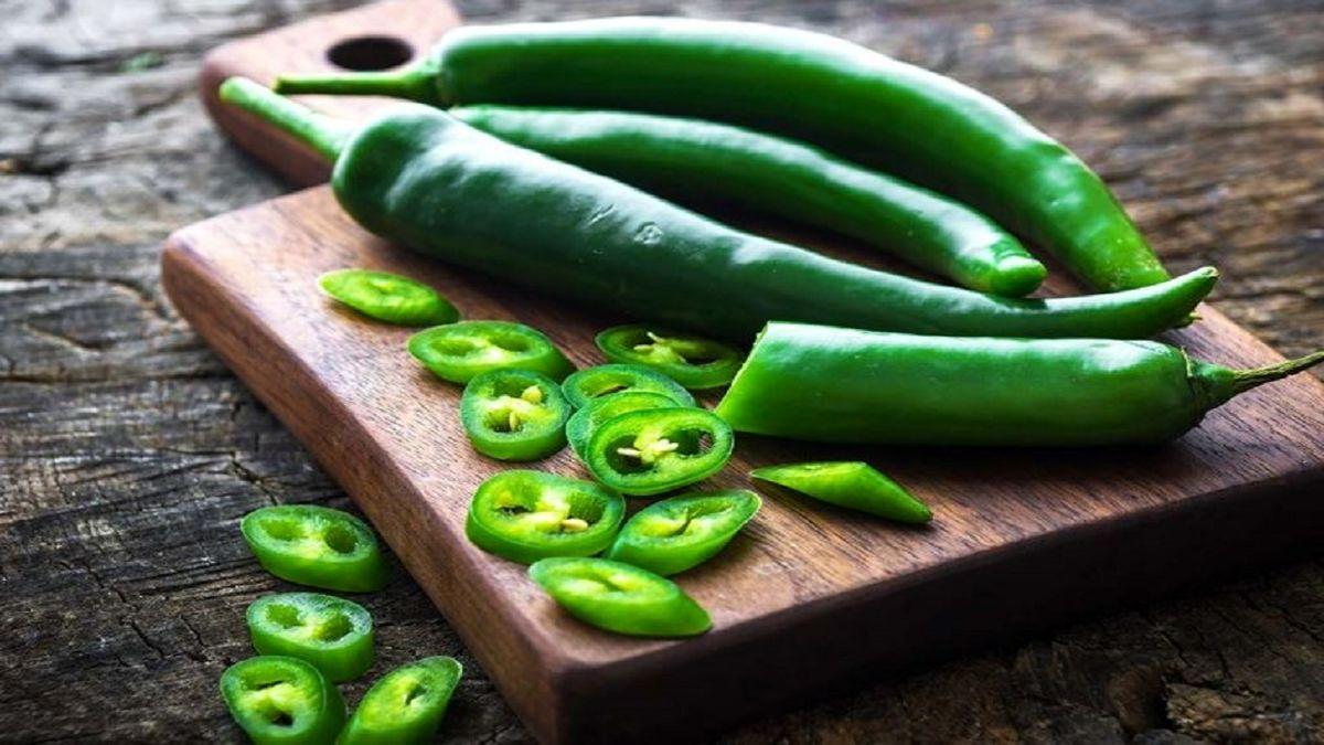 خوردن فلفل سبز تند مفید است؟