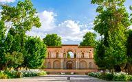 بازی طبیعت با باغ شاهزاده ماهان در طول یک سال