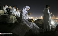 حال و هوای زائران خانه خدا در صحرای عرفات/تصاویر