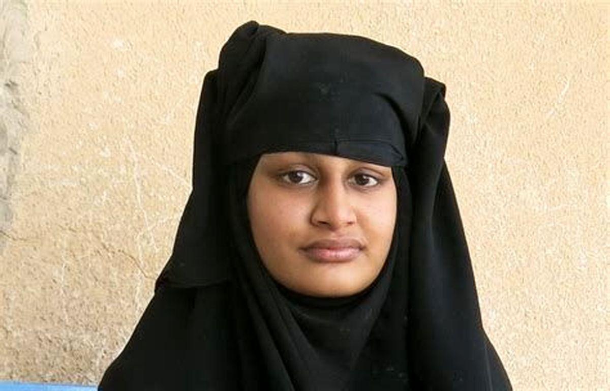 انگلیس با بازگشت عروس داعشی مخالفت کرد+عکس