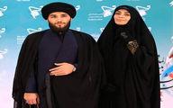 عکس دیده نشده از الهام چرخنده و همسر روحانی اش + عکس