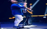 بابک جهانبخش در کنسرتش