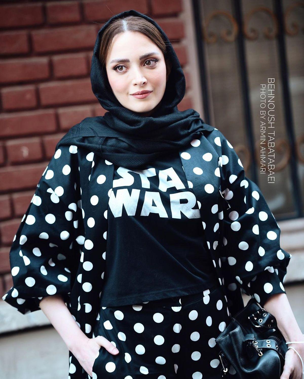 لباس جالب بهنوش طباطبايي + عكس