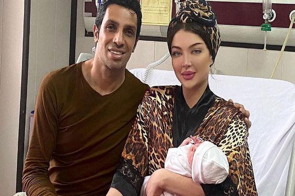 چهره جدید و عجیب همسر سپهر حیدری+ عکس