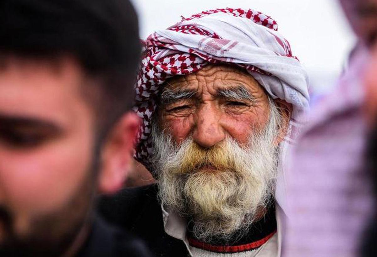 تصاویر دیده نشده از تشییع پیکر ۱۰۴ قربانی ایزدی کشته شده به دست داعش