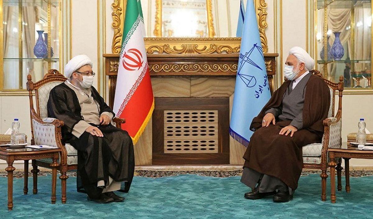 جزئیات دیدار آملی لاریجانی با رئیس قوه قضائیه